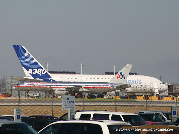 The Cardinal Heights Gallery Airbus A380 And Boeing 757